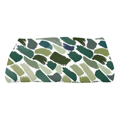 Bueche Tufted Novelty Bath Towel Color: Green