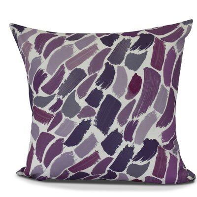 Jennifer Wenstry Abstract Outdoor Throw Pillow Size: 16