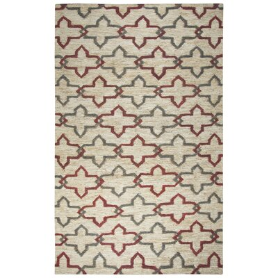 Whalan Hand-Woven Natural Area Rug Size: Rectangle 8 x 10