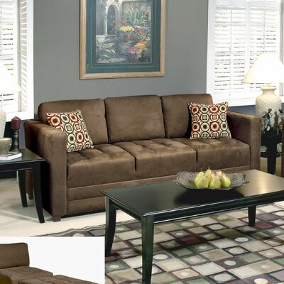 Serta Upholstery Sofa Upholstery: Sienna Mocha