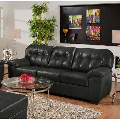 Simmons Upholstery David Sofa Upholstery: Onyx