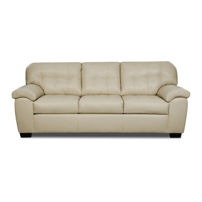 Simmons Upholstery David Queen Sleeper Sofa Upholstery: Pearl