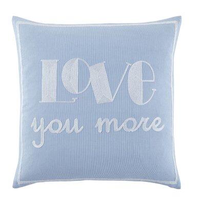 Ajax Love You More 100% Cotton Throw Pillow