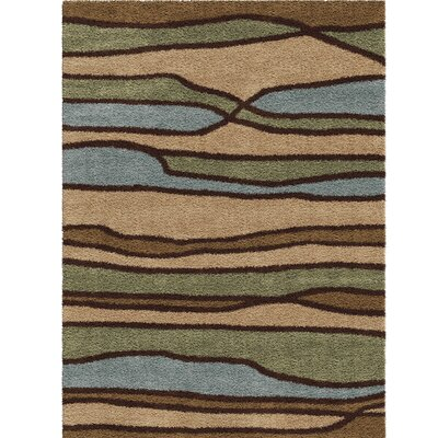 Margie Beige/Green Area Rug