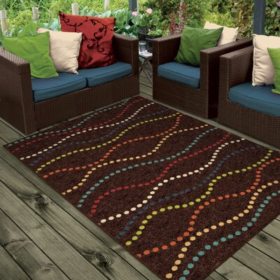 Lilliana Brown Indoor/Outdoor Area Rug