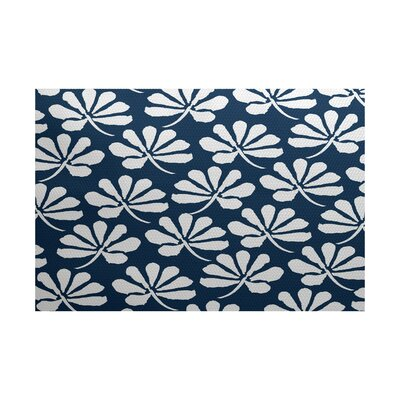 Velasquez Blue Indoor/Outdoor Area Rug Rug Size: 4 x 6