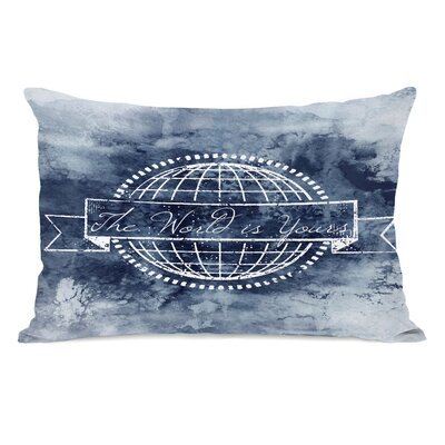 Garrison The World is Yours Lumbar Pillow