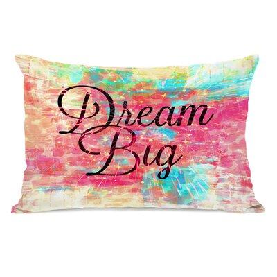 Warren Dream Big Leopard Lumbar Pillow
