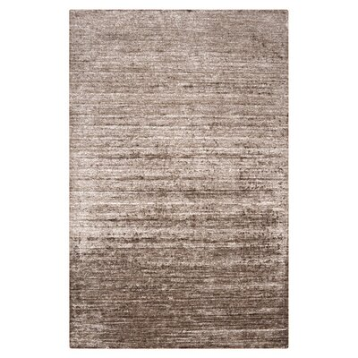 Adrian Dark Taupe Solid Area Rug Rug Size: Rectangle 5 x 8