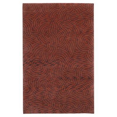 Dixon Brown/Tan Area Rug Rug Size: 5 x 8
