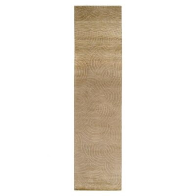 Dixon Brown/Tan Area Rug Rug Size: Runner 26 x 10