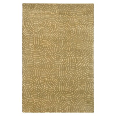 Dixon Brown/Tan Area Rug Rug Size: 4 x 6