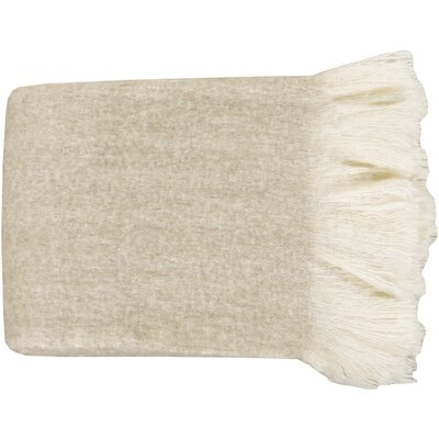 Arden Throw Color: Khaki
