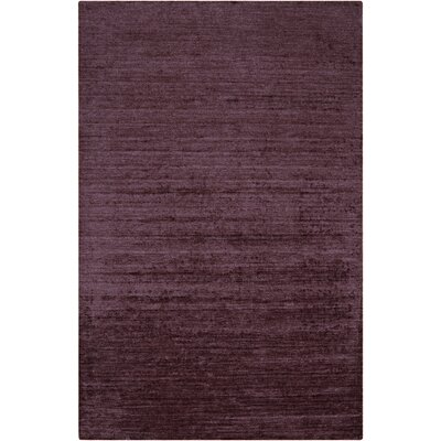 Adrian Plum Solid Area Rug Rug Size: Rectangle 8 x 11