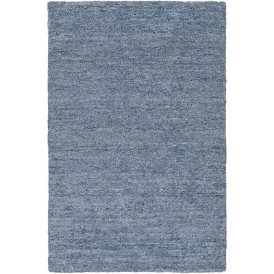 Adrian Slate Solid Area Rug Rug Size: Rectangle 36 x 56