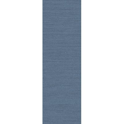 Adrian Slate Solid Area Rug Rug Size: Runner 26 x 8