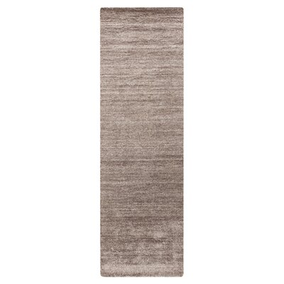 Adrian Gray Solid Area Rug Rug Size: Runner 26 x 8