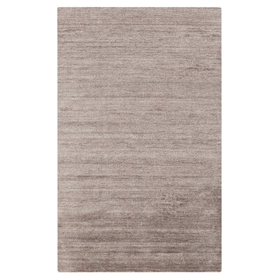 Adrian Gray Solid Area Rug Rug Size: Rectangle 36 x 56