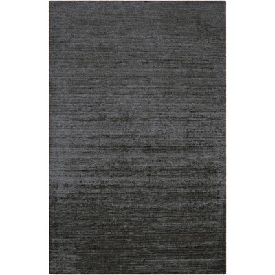 Adrian Hand Woven Gray Area Rug Rug Size: Rectangle 36 x 56