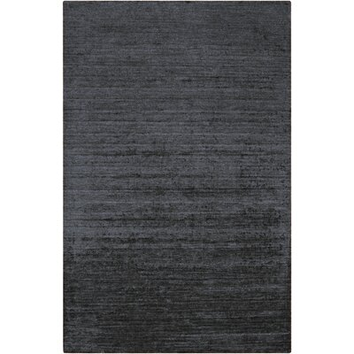 Adrian Light Black Solid Area Rug Rug Size: Rectangle 5 x 8