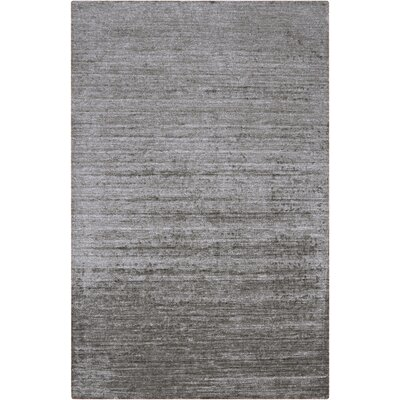 Adrian Hand Woven Light Gray Area Rug Rug Size: Rectangle 5 x 8