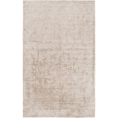 Adrian Taupe Area Rug Rug Size: Rectangle 2' x 3'