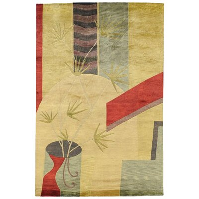 Mazzarella Beige Area Rug Rug Size: Rectangle 5 x 8