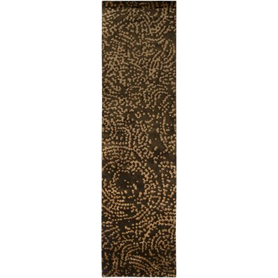 Dixon Chocolate Area Rug Rug Size: Rectangle 5 x 8