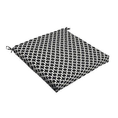 Samantha Geometric Indoor/Outdoor Dining Chair Cushion Size: 2.5 H x 20 W x 20 D
