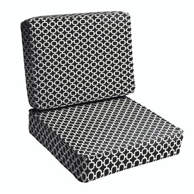 Samantha Geometric Dining Chair Cushion