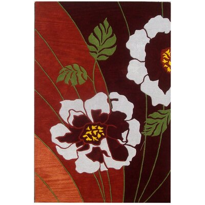 Woodburn Brown Rug Rug Size: Rectangle 5 x 8