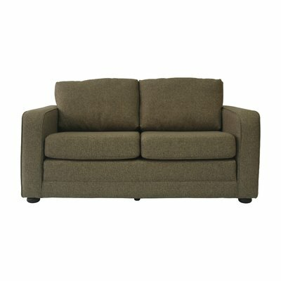 Lillian Ultra Lightweight Sleeper Sofa Upholstery: Green