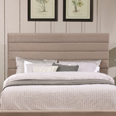 Aguon Mid-Century Modern Upholstered Panel Headboard Size: California King