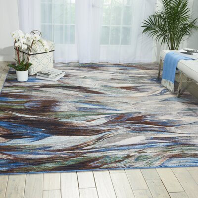 Ostby Aegean Area Rug Rug Size: Rectangle 99 x 128