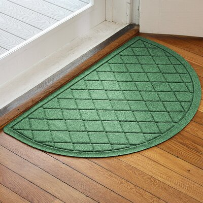 Ainaro Aqua Shield Argyle Doormat Color: Light Green