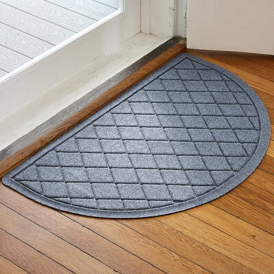Ainaro Aqua Shield Argyle Doormat Color: Bluestone