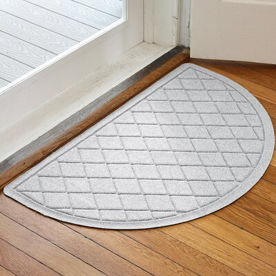 Ainaro Aqua Shield Argyle Doormat Color: White