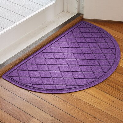 Ainaro Aqua Shield Argyle Doormat Color: Purple