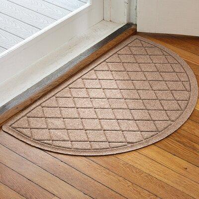 Ainaro Aqua Shield Argyle Doormat Color: Medium Brown