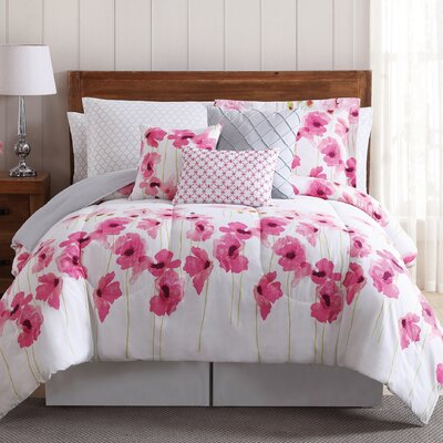 Palmyra 12 Piece Comforter Set Size: Queen