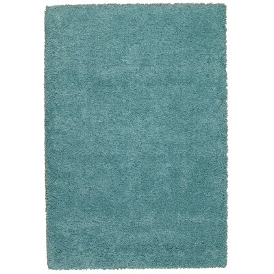Shelley Aqua Area Rug Rug Size: 53 x 75