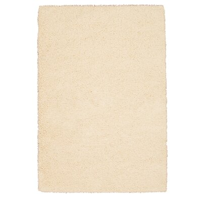 Shelley Cream Area Rug Rug Size: 53 x 75