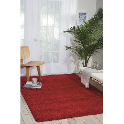 Shelley Red Area Rug Rug Size: 710 x 1010