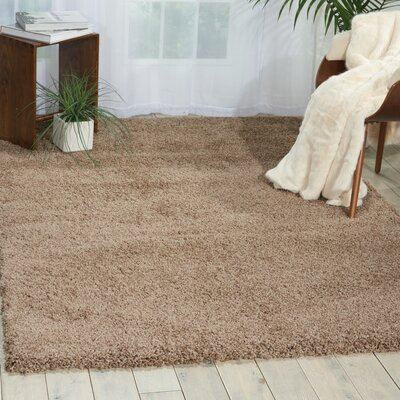 Aileu Latte Area Rug Rug Size: Rectangle 710 x 1010