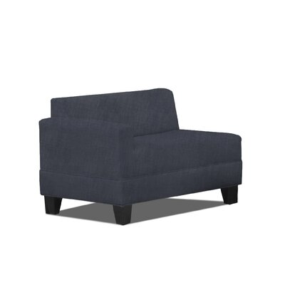 Eric Left Arm Loveseat Color: Graphite