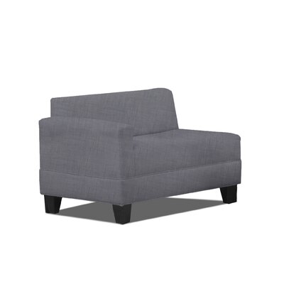 Bond Left Arm Loveseat Color: Ash