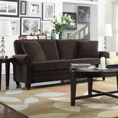 Cordele Sofa Upholstery: Brown