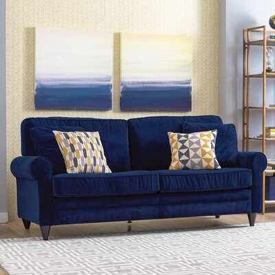 Morton Sofa Upholstery: Navy Blue