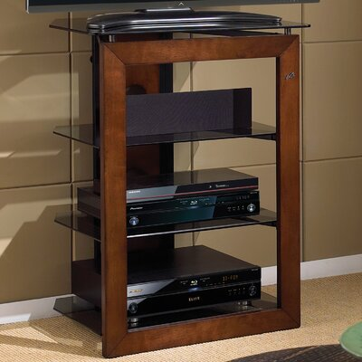 Modern & Contemporary Wood Audio Rack