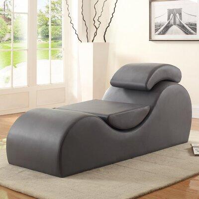 Braflin Chaise Lounge Color: Gray